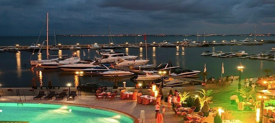 Яхтено пристанище Свети Влас 1