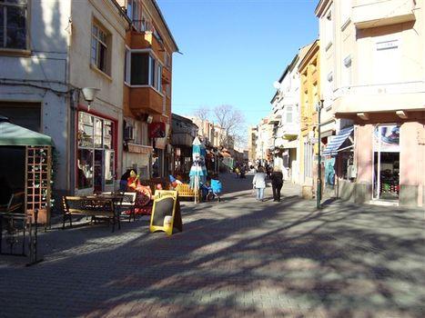 главната улица на Асеновград
